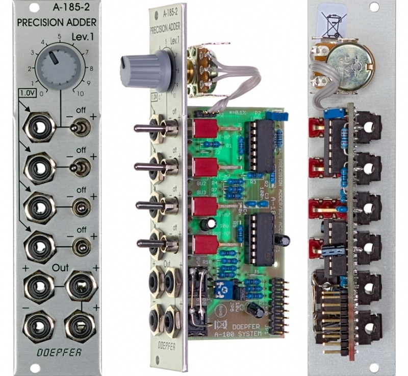 Doepfer A-185-2 Precision CV Adder