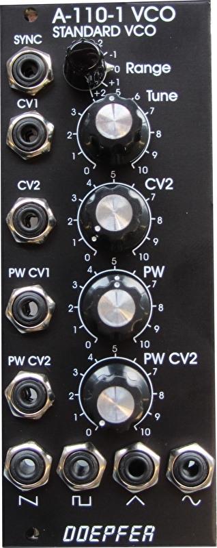 Doepfer A-110-1V (vintage black edition)