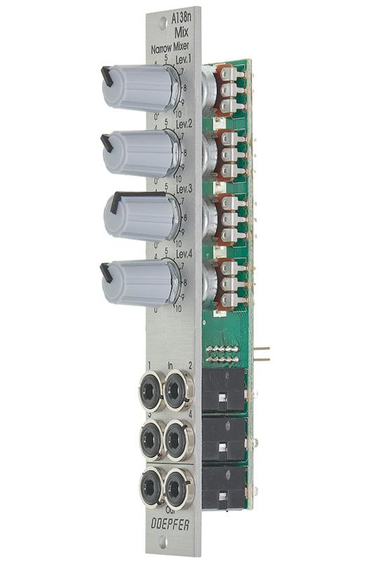 Doepfer A-138n Narrow Mixer Module