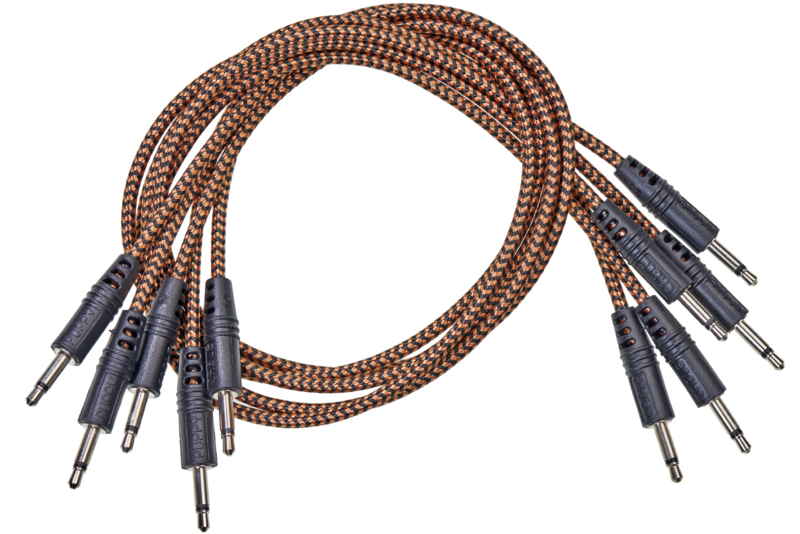 CablePuppy cable 45 cm (5 Pack) black-brown