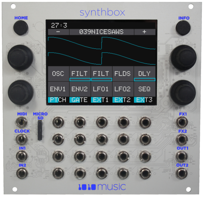 1010Music - Synthbox – Polyphonic Synthesizer Module