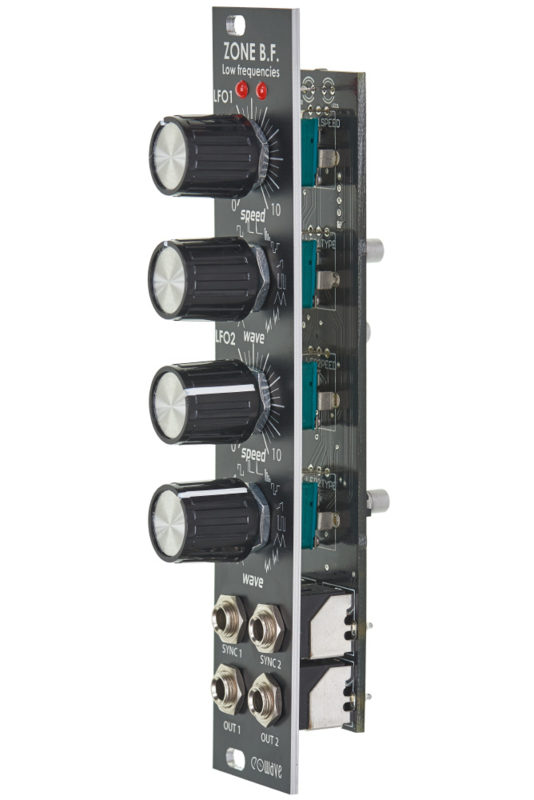 black edition Eowave Zone BF Dual LFO Module