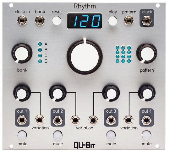 Qu-Bit Electronix - Rhythm (silver)