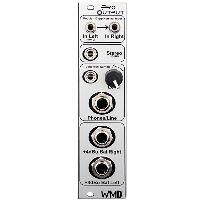 WMD - Pro Output