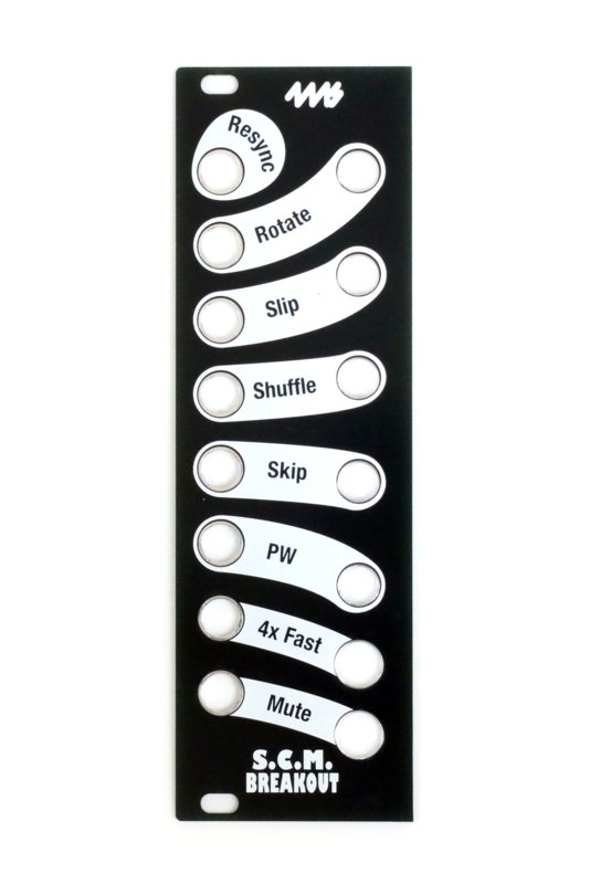 4ms - SCMBO Faceplate - Black