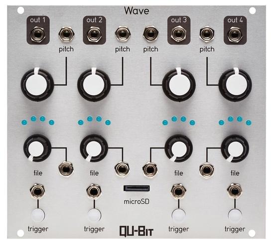 Qu-Bit Electronix -  Wave (4x Sample player) (silver)