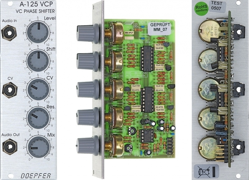 Doepfer A-125 Voltage Controlled Phase Shifter | Doepfer