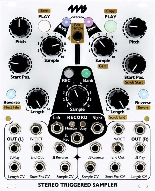 4ms - Stereo Triggered Sampler (STS)