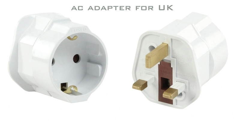 AC adapter for UK