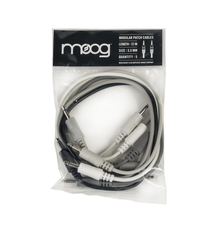 Moog Music Mother-32 Patch Cables - 5 pack - 12 Inch