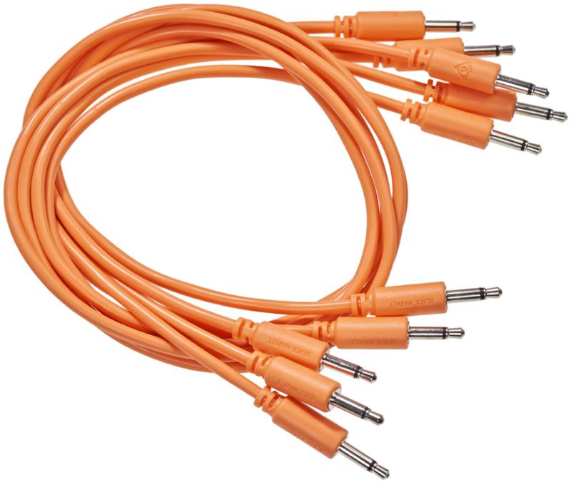 Black Market Modular patchcable 5-Pack 9 cm orange