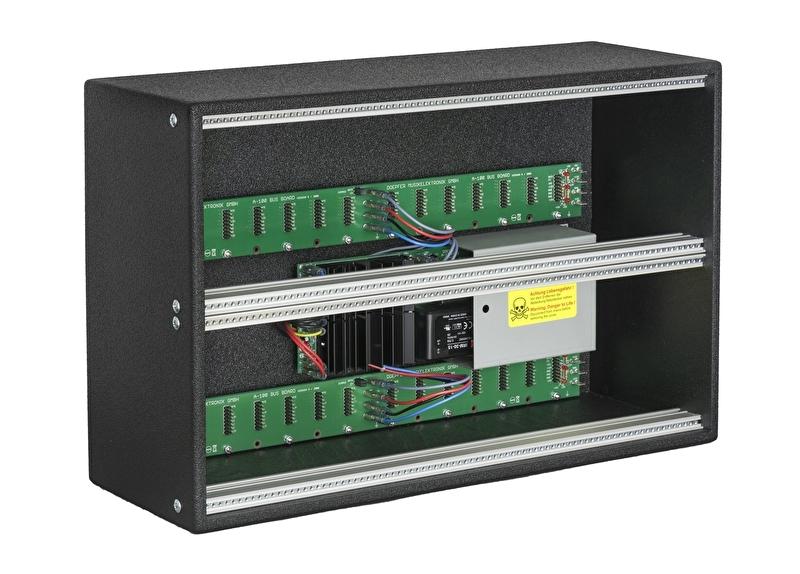 Doepfer A-100LC6v Low Cost Frame with PSU3 Vintage Edition  (erurorack case)