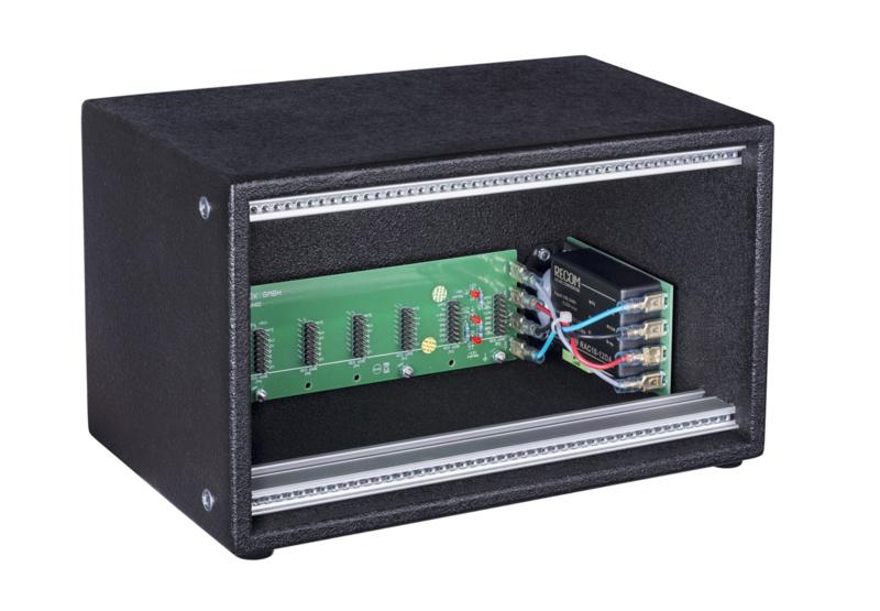 Doepfer A-100LC1V Low Cost Case Vintage Vers. 100-240V  (erurorack case)