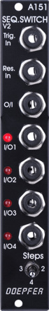Doepfer A-151V Quad Sequential Switch