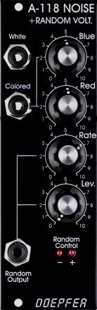 Doepfer A-118V Noise / Random  (vintage black)