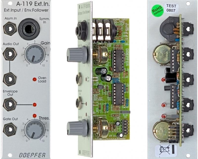 Doepfer A-119 External Input / Envelope Follower