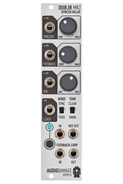Audio Damage ADM16 Dub Jr. MkII Clock Synced Delay