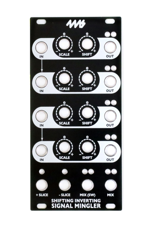 4ms - SISM Faceplate - Black