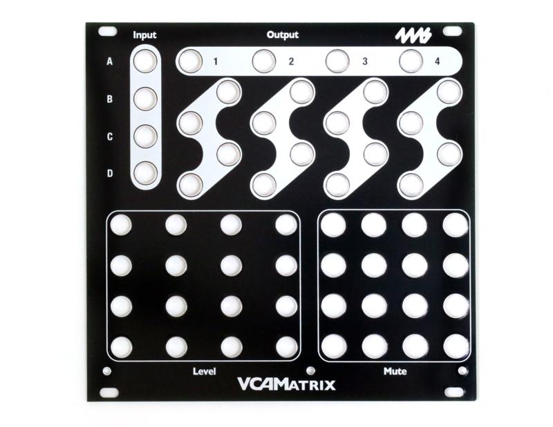 4ms - VCAM Faceplate - Black