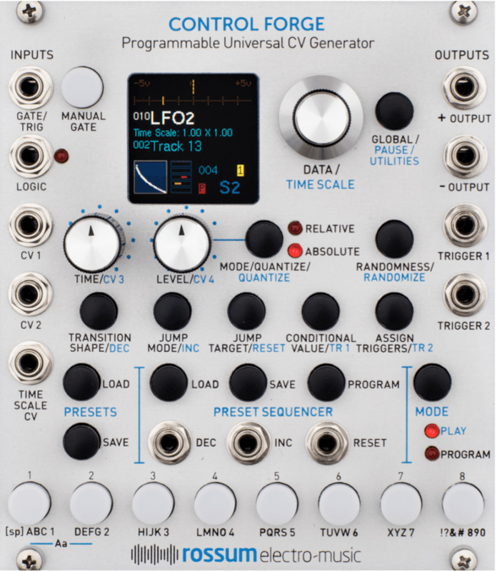 Rossum electro-music - Control Forge