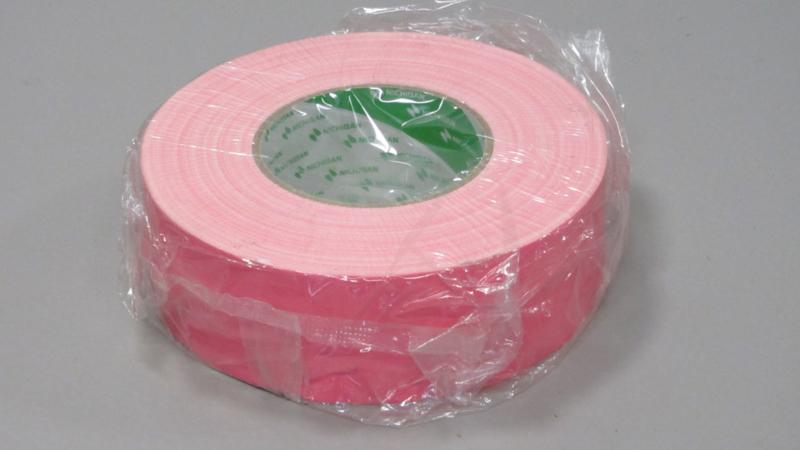 Nichiban gaffertape 50mm*50M licht roze / light pink, 1x rol