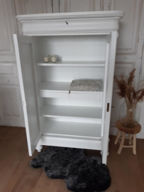 "Biedermeier kast  ""Pure White"""