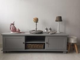 """Landelijk tv meubel """"Riviera grijs"""""""