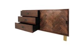 Sideboard Oxford - 180 cm - Antiekbruin Mozaiek