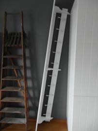 Sierlijke landelijke XXL kapstok 2.35m lang