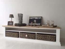 Landelijk tv meubel steigerhout