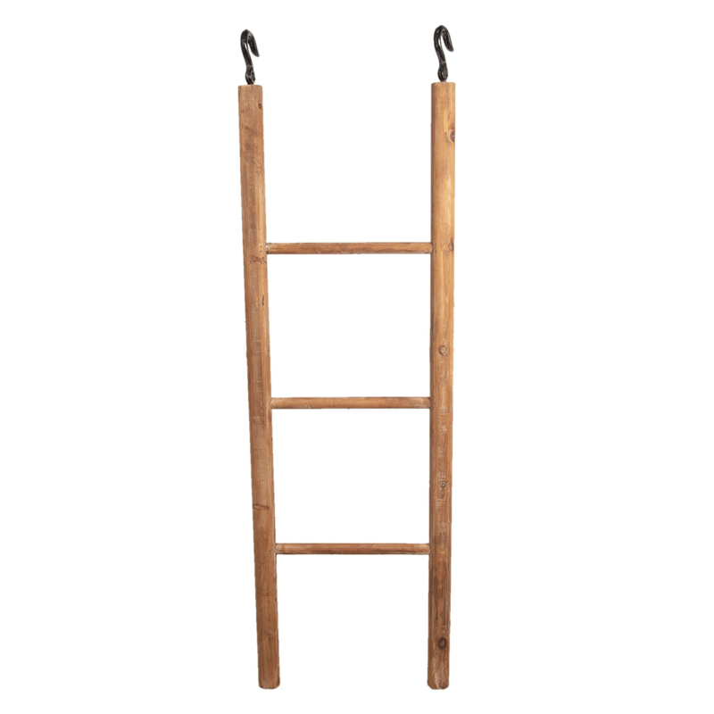Decoratie ladder met ophang haken