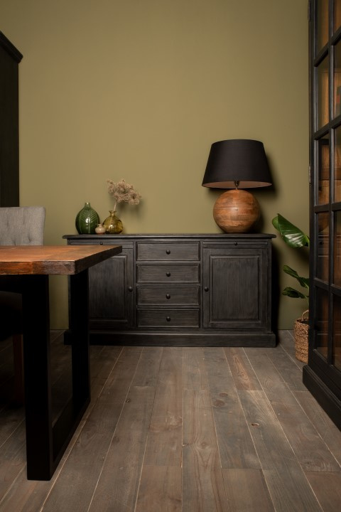 Dressoir Durham - worn black/vintage