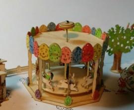 Konijnen carrousel