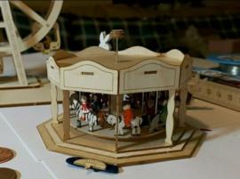 Carrousel met dieren