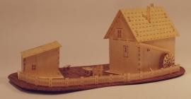 Huis met watermolen, H93