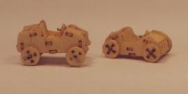 2 Speelgoed auto´s, M108