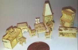 Miniaturen, schaal 1:144 en kleiner