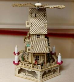 Piramide Kerstmis paleis