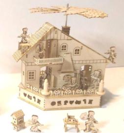 Tafelpiramide engelen bakkerij
