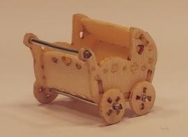 Tweeling kinderwagen, M122