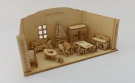 Poppenhuis woonkamer, M143