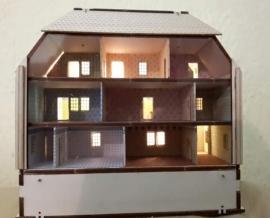Poppenhuis, H2015 (incl. verlichting en behang)