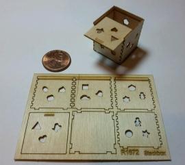 Miniaturen, schaal 1:12