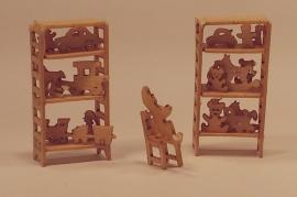 Speelgoedkast, M137