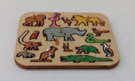 Steekpuzzel dieren