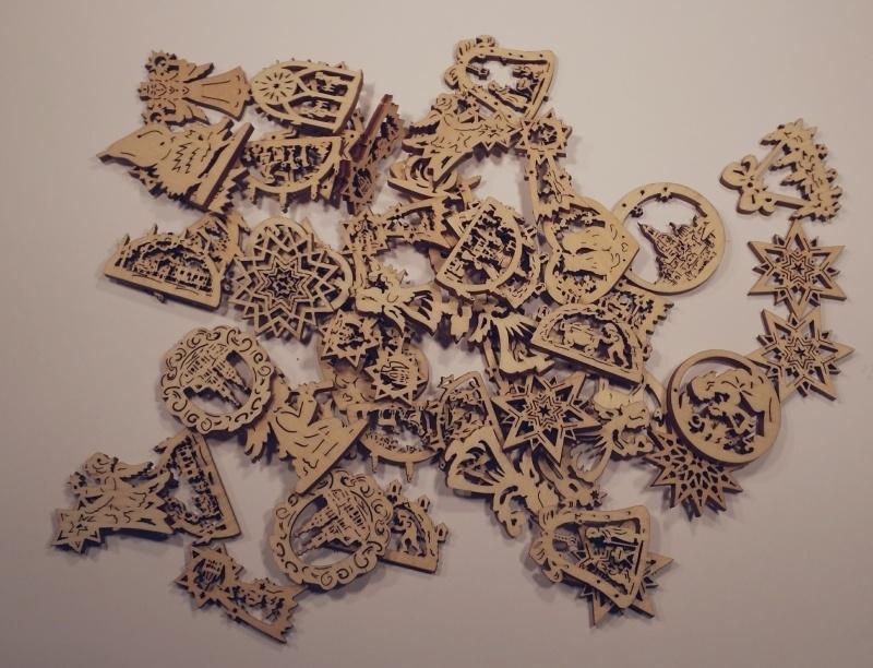 Diverse figuren, 3 cm