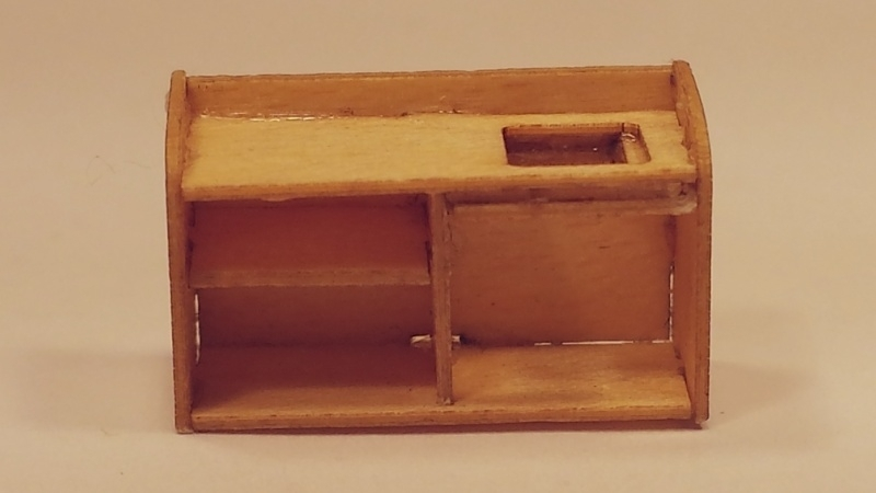 Keukenblok met spoelbak, M68