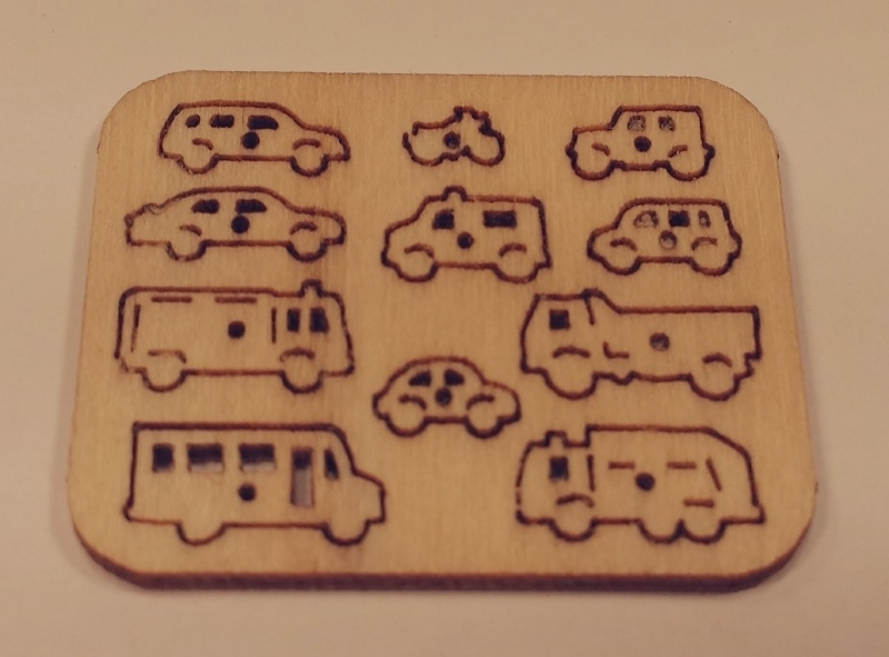 Steekpuzzel auto's, PU11
