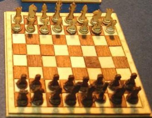 Schaken bordspel
