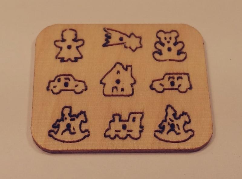 Steekpuzzel speelgoed, PU09